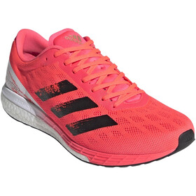 adidas Adizero Boston 9 Chaussures Homme, signal pink/core black